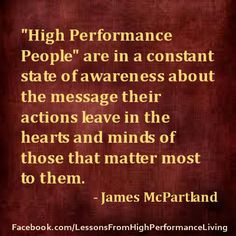 High Performance Living Quotes - Visit and LIKE us on our Facebook ...