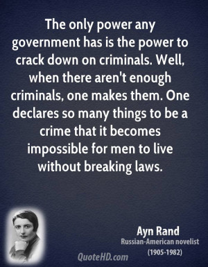 Ayn Rand Power Quotes ...