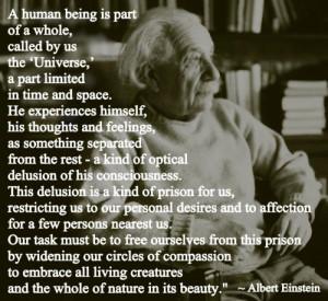 Einstein on Compassion