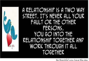 It Takes Two To Tango In A Relationship