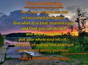 Good Morning Thoughts for 25-03-2010