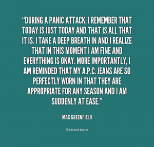 Related For Anxiety Attack Quotes
