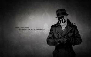 watchmen text quotes rorschach monochrome hats 1920x1200 wallpaper