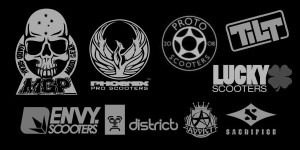 Pro Scooter Brands Logos