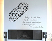 Science art chemistry - women in science - Marie Curie inspiring quote ...