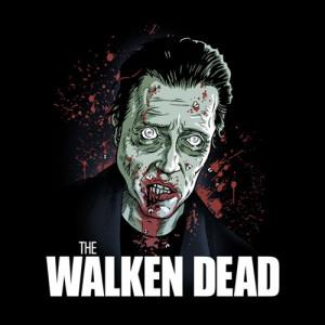 Zombie Christopher Walken Walking Dead T-Shirt