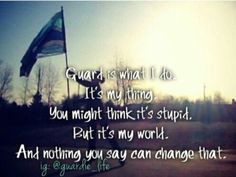 Color-guard quotes