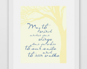 ... sails and the moon walks ― J.R.R. Tolkien, The Hobbit Quote Print #1