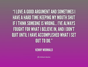 Love Arguments Quotes