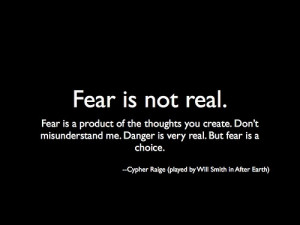... to make, reminds me of the Bene Gesserit litany against fear from Dune