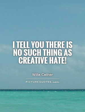 Creative Hater Quotes
