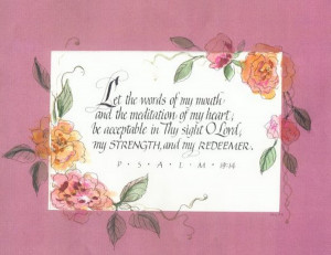 bible verses calligraphy wedding set 1129079 » bible-verses ...