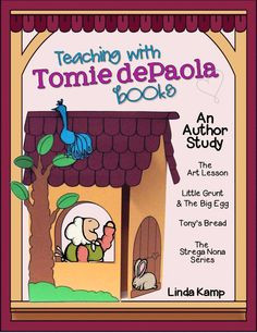 Tomie dePaola author study~Teaching with Tomie dePaola books is a ...