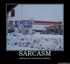 Sarcastic Inspirational Work Quotes ~ Sarcastic motivational quotes ...