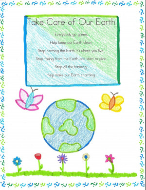 Famous Happy Earth Day 2015 Poems For Preschoolers