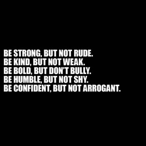 ... people need to learn the difference between confidence and arrogance