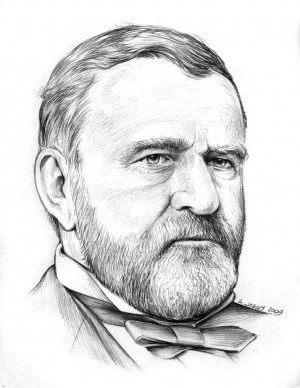 Ulysses S Grant by gregchapin