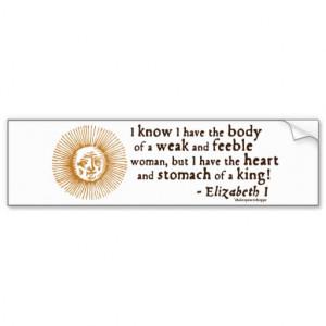 queen_elizabeth_i_tilbury_quote_bumper_stickers ...