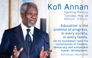 Kofi Annan to Open NAFSA's 2013 Conference