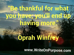 Enjoy this wonderful Oprah Winfrey inspirational quotes on gratitude ...
