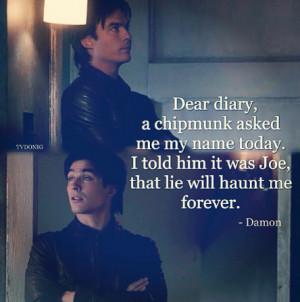 Damon Salvatore Funny Quotes