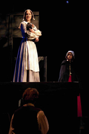 three scaffold scenes progression of The scaffold scenes are the most dramatic and foreshadowing and help highlight the most important events of the novel this is evident in the beginning, middle and conclusion of the book the main characters are present in these scenes and the main symbol, the scarlet letter.