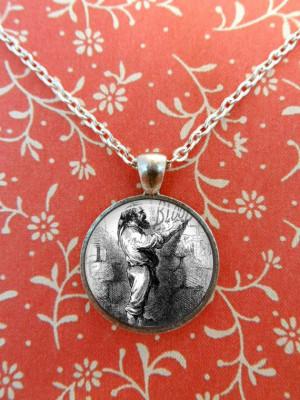 Necklace, Charles Dickens, Quote, Literature, Steampunk, Oliver Twist ...