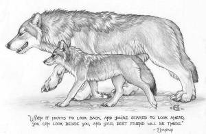 spirit wolf sayings