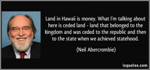 here is ceded land - land that belonged to the kingdom and was ceded ...