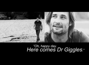 Sawyer lost funny quote