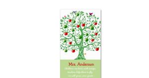 apple_tree_teacher_quote_teacher_business_card ...