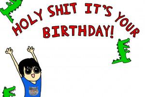 Before anybody beats me to it... HAPPY BIRTHDAY OCTO!