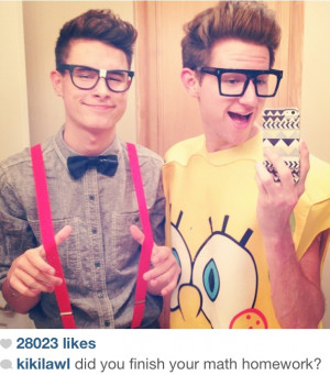 adorable, cute, halloween, kian lawley, nerds, o2l, ricky dillon, sexy ...