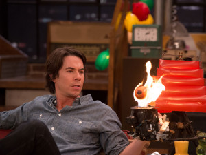 Great flames of fire!|What would be of Spencer's many kooky inventions ...