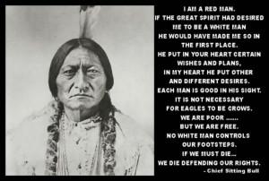 Am A Red Man...
