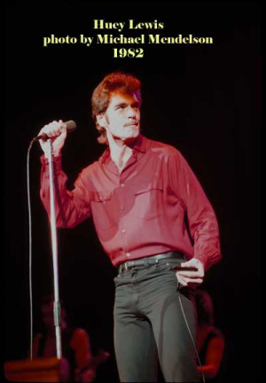 Huey Lewis Photo From The...