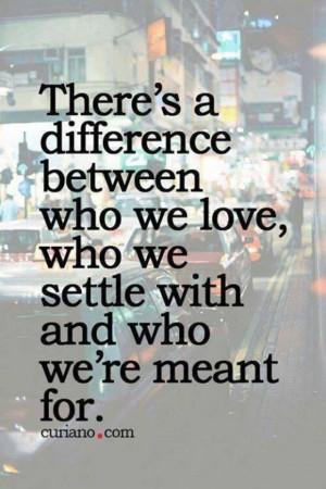 So true... No settling!