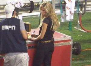 Erin Andrews and her Peepin Tom