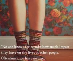 this quote ♥ it's from 13 Reasons Why. GREAT BOOK! #impact #quote ...