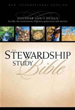 NIV Stewardship Study Bible Notes, bible, bible study, gospel, bible ...