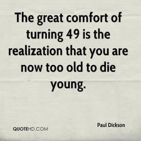 Quotes About Turning 49