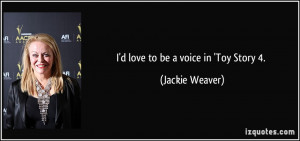 Jackie Weaver Quote