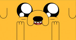 Jake the dog - Pure CSS Adventure Time Wallpaper by SangrePrimitiva