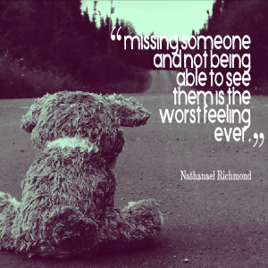 quotes about missing someone who died
