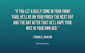Inspirational Bullying...