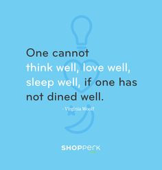 Food Quotes And Sayings Food quote from virginia woolf