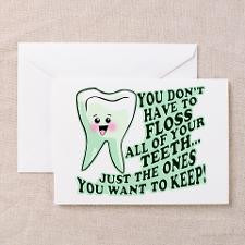 Funny Dental Hygiene Greeting Cards (Pk of 20) for