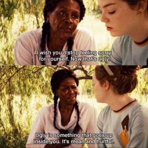 The Help #thehelp #film #ugly #movie #sorry #quoteoftheday #quote # ...