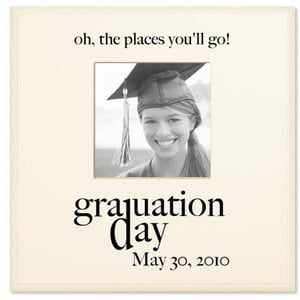 Graduation Quote Frame | Inspirational Graduation Gift, High School Gr ...