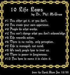 Ten Life Laws by Dr. Phil McGraw